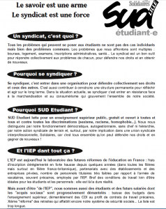 Tract rentrée IEP