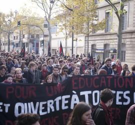 Manifestation 16 octobre